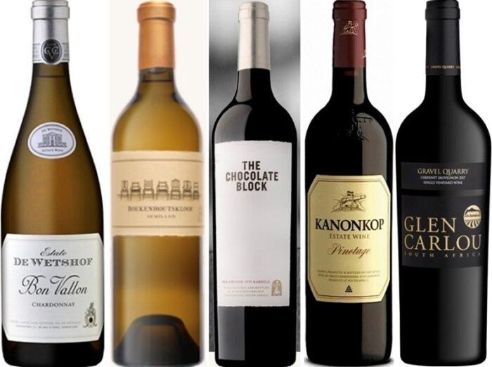 Vinhos Premium da África do Sul